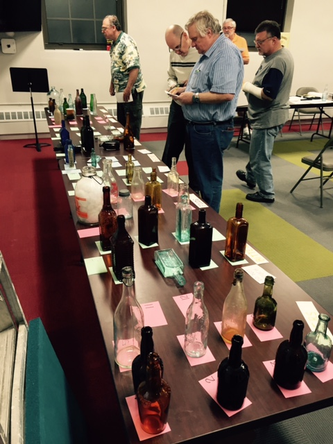 2015 Bottles being judged for our annual Dug and Acquisition awards