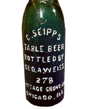 C. Seipp's Table Beer, Bottled By Geo. A. Weiss