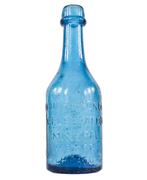 Hutchinson & Co. Celebrated Mineral Water, IP soda**