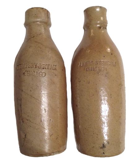 Dempsey & Ryan, James Stenson pottery beers