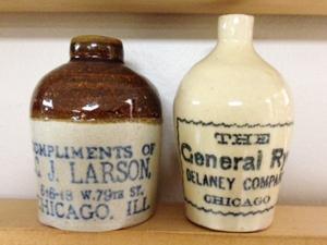 C. J. Larson & Delaney Co. mini jugs