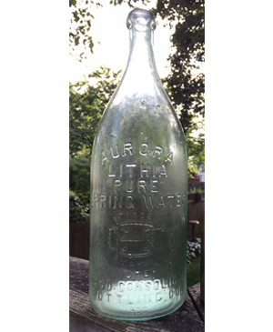 Aurora Lithia Pure Spring Water, Chicago Consolidated Bottling Company