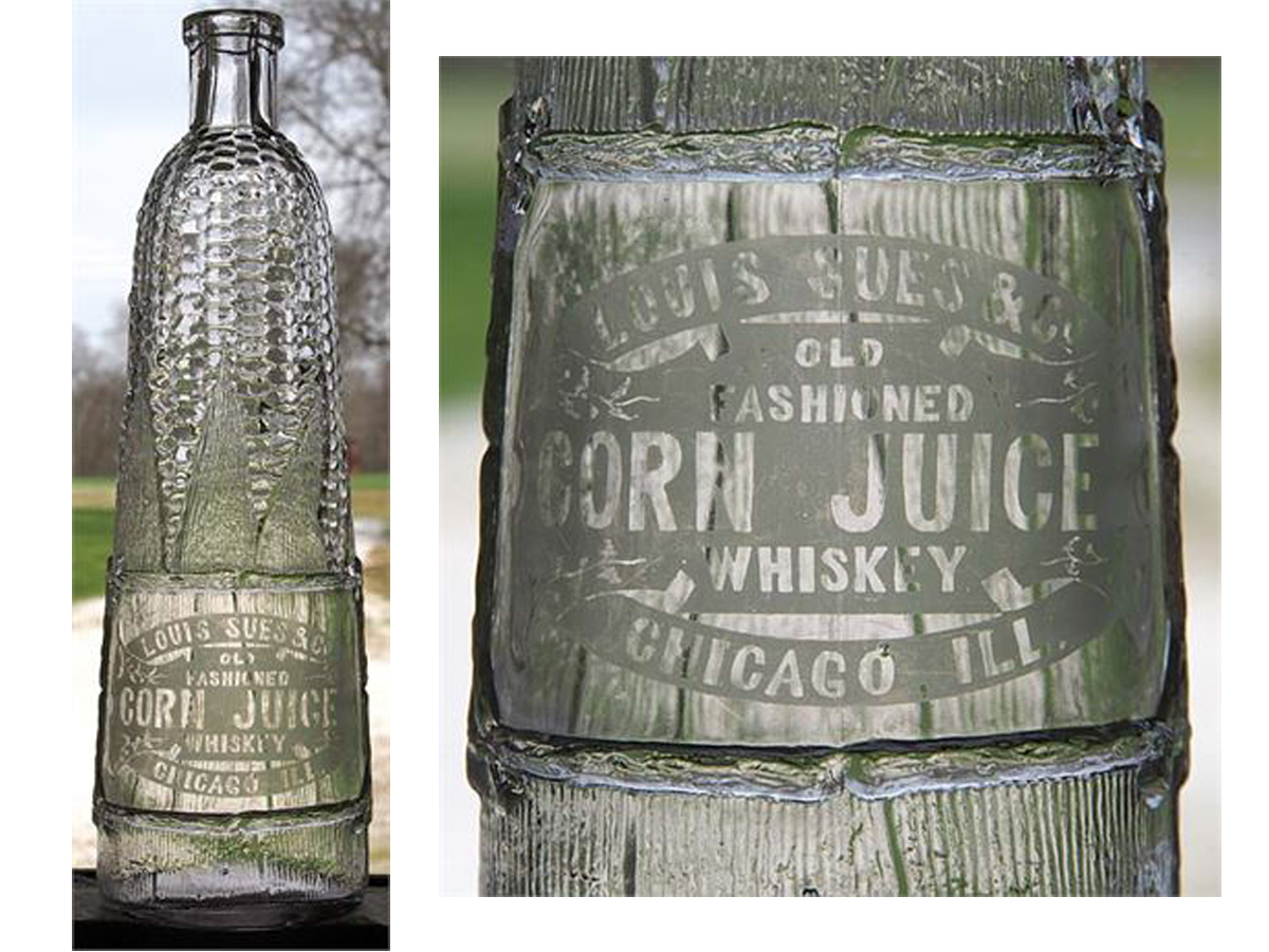 Louis Sues & Co., Old Fashioned Corn Juice Whiskey
