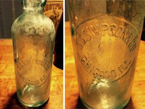 S.S. Simpson & Co. Hutchinson soda