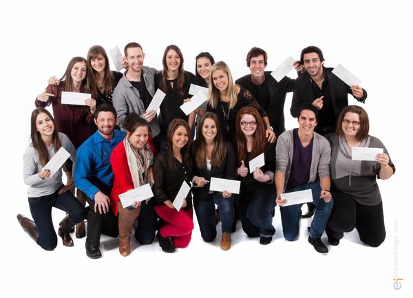 Universitaire (16 bourses de 2 500 $ - Total de 40 000 $)