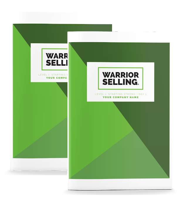 Warrior Selling Starting Strong Two-Day Seminar Workbooks