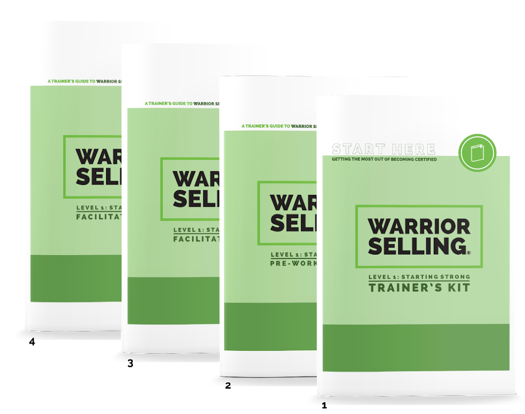 Warrior Selling Facilitator's Guides