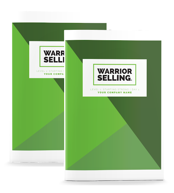 Warrior Selling Starting Strong Two-Day Kickoff Workbooks