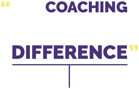 The coaching along the way makes all the difference.