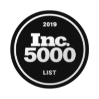 Inc. 500 Fastest Growing Private Company in 2016, 2017, 2018 & 2019