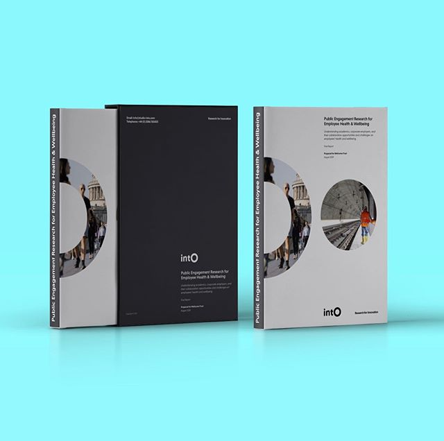 Public Engagement Research for Employees Health & Well-being #graphicdesign #design #report