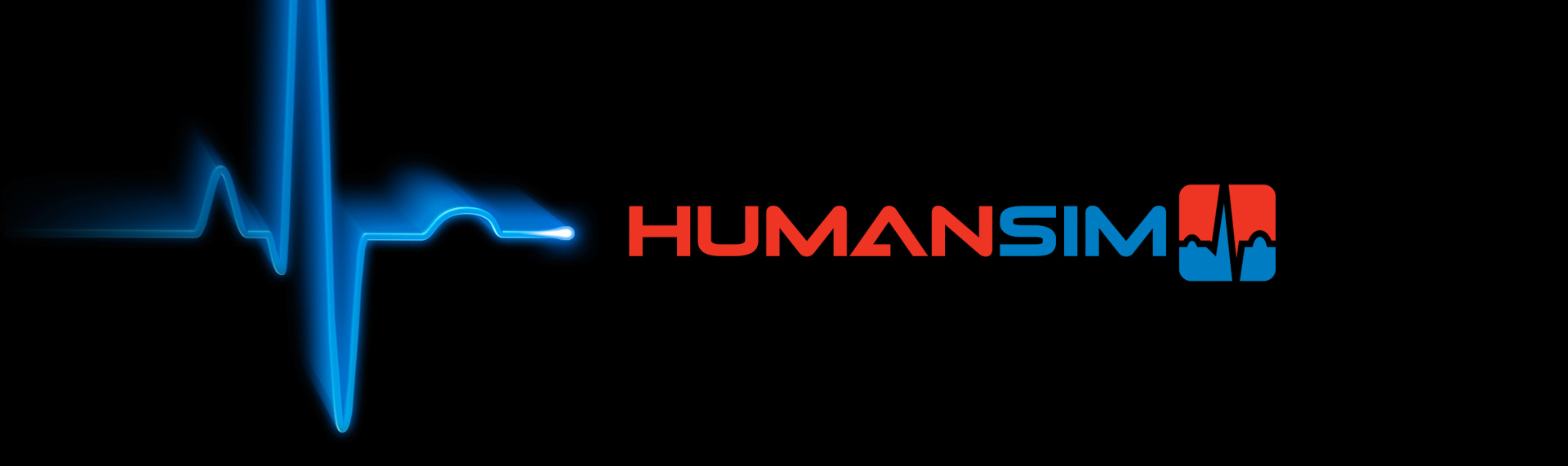 HumanSim  Brand Identity Design  After the first successful brand identity creation endeavor for Virtual Heroes, the company came back to us a second time to design the logo for their HumanSim product. HumanSim by Virtual Heroes, enables health care professionals to sharpen their assessment and decision-making skills without risk to patients in realistic, challenging, immersive environments. HumanSim is part of their Advanced Learning Technologies leveraging simulation and digital games-based learning paradigms to accelerate learning.