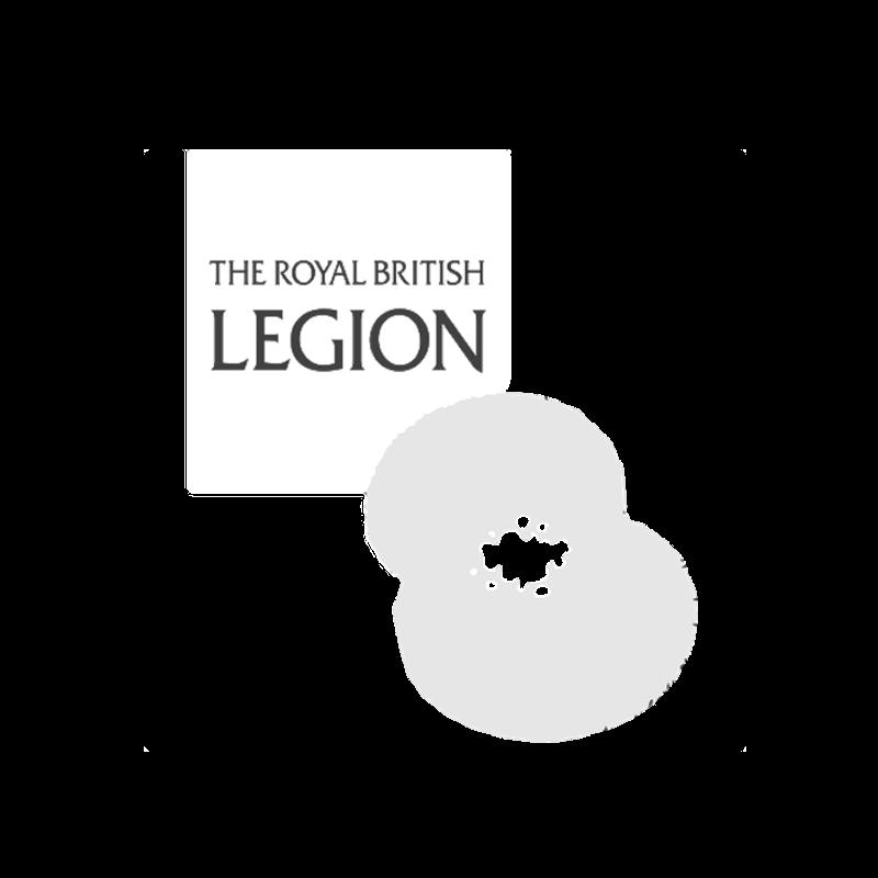 Royal British legion logo white .png