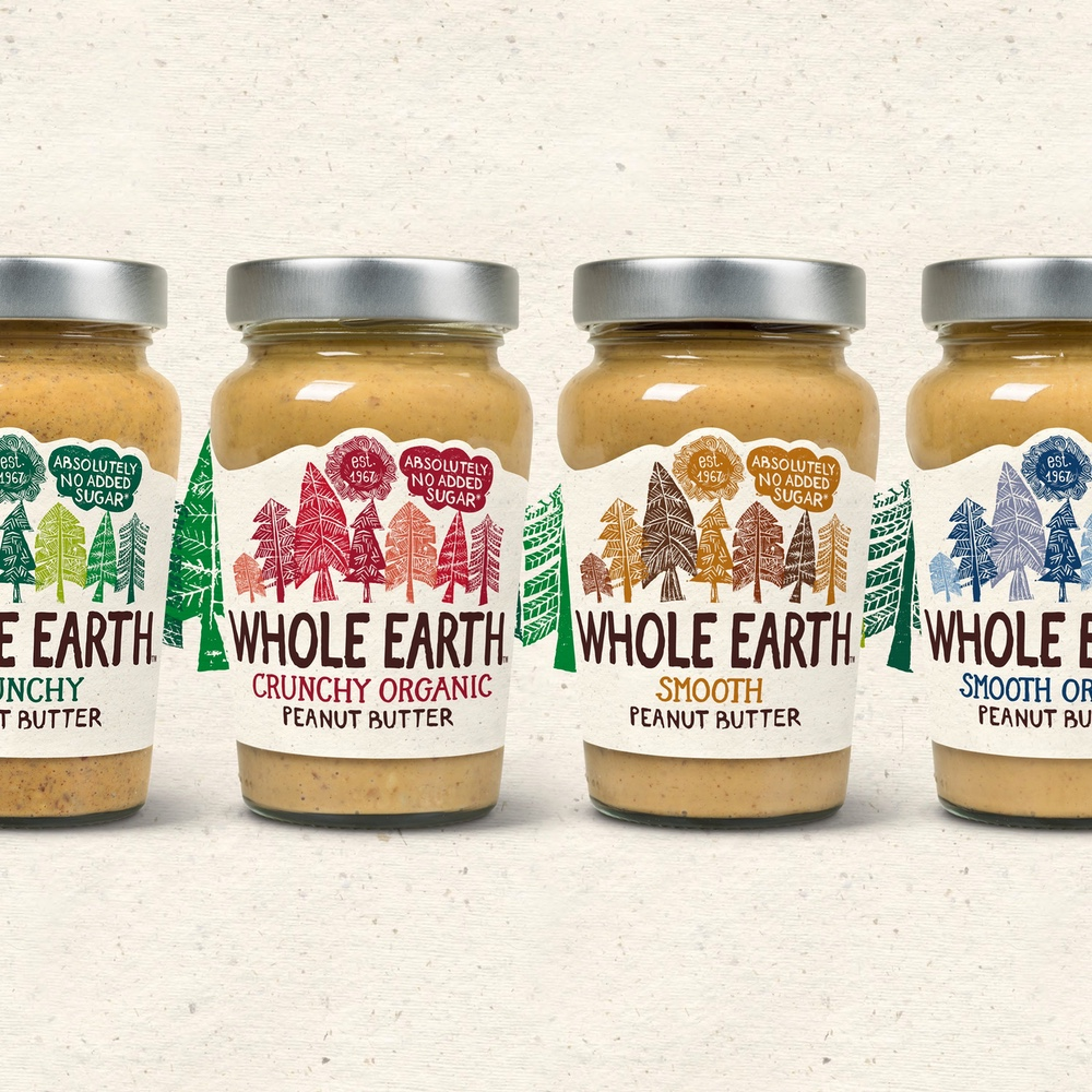 Whole Earth - As peanut butter entered a new phase and became a health food trend, there was a bit of a mad scramble for the top spot. We helped Whole Earth become the UKs most successful peanut butter brand.Find out more