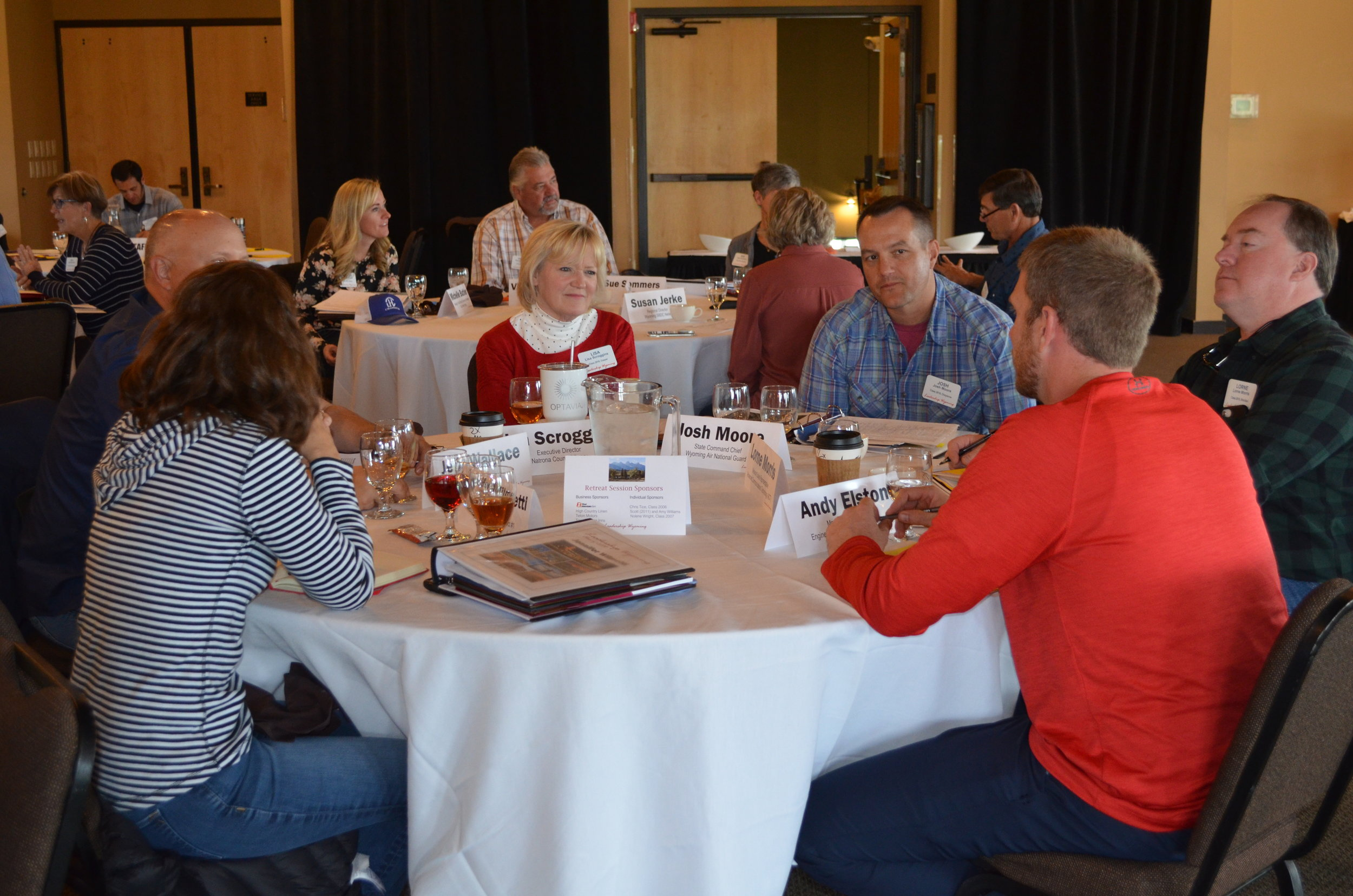 Leadership Wyoming is a nine-month cohort experience designed to help Wyoming leaders understand the state and grow in their capacity as leaders. Each year between 45-50 leaders are selected for the experience that begins in August and is completed in May.