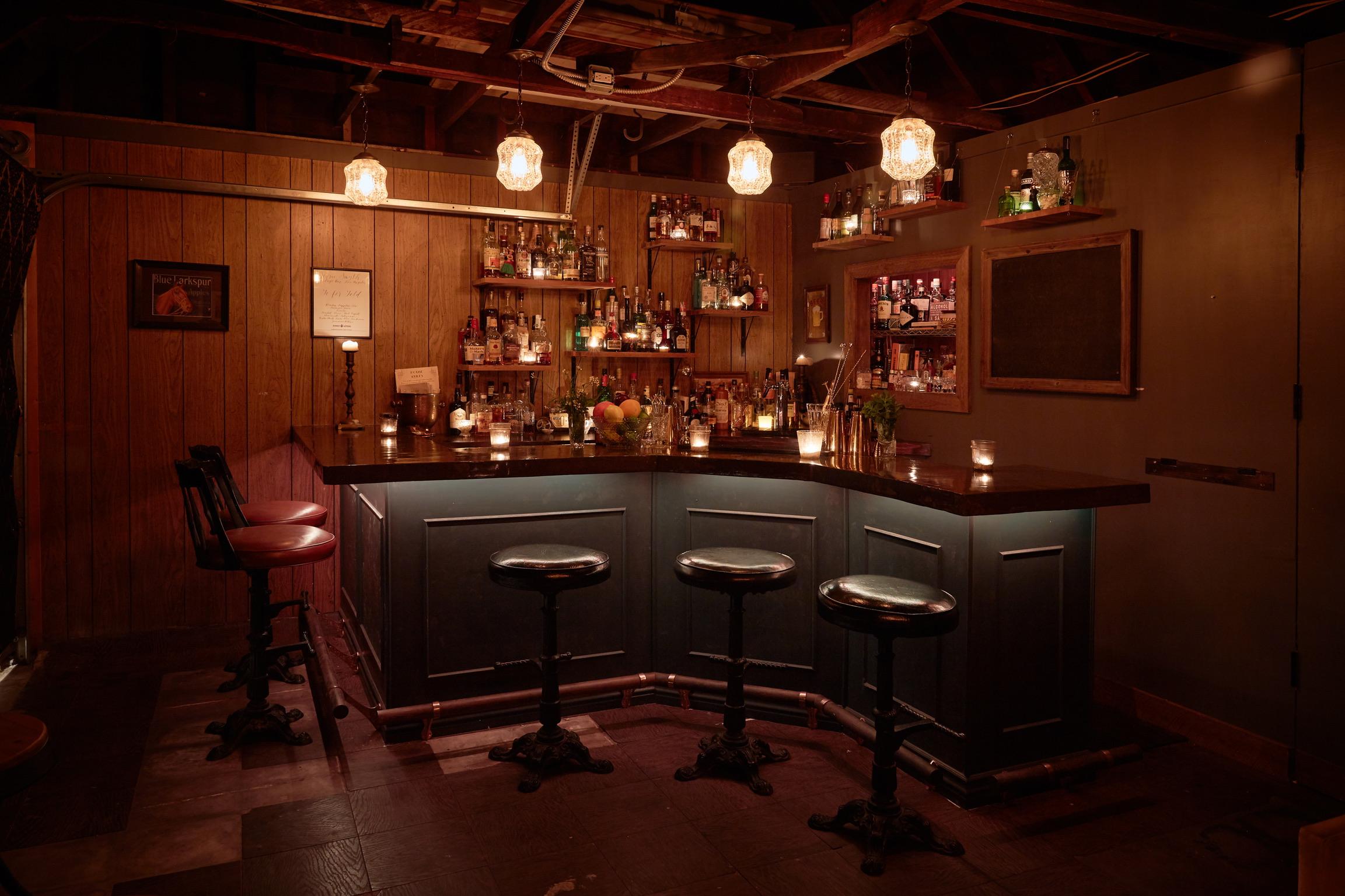 """Meet the Los Angeles speakeasy """"bar"""" that was born in a garden"""