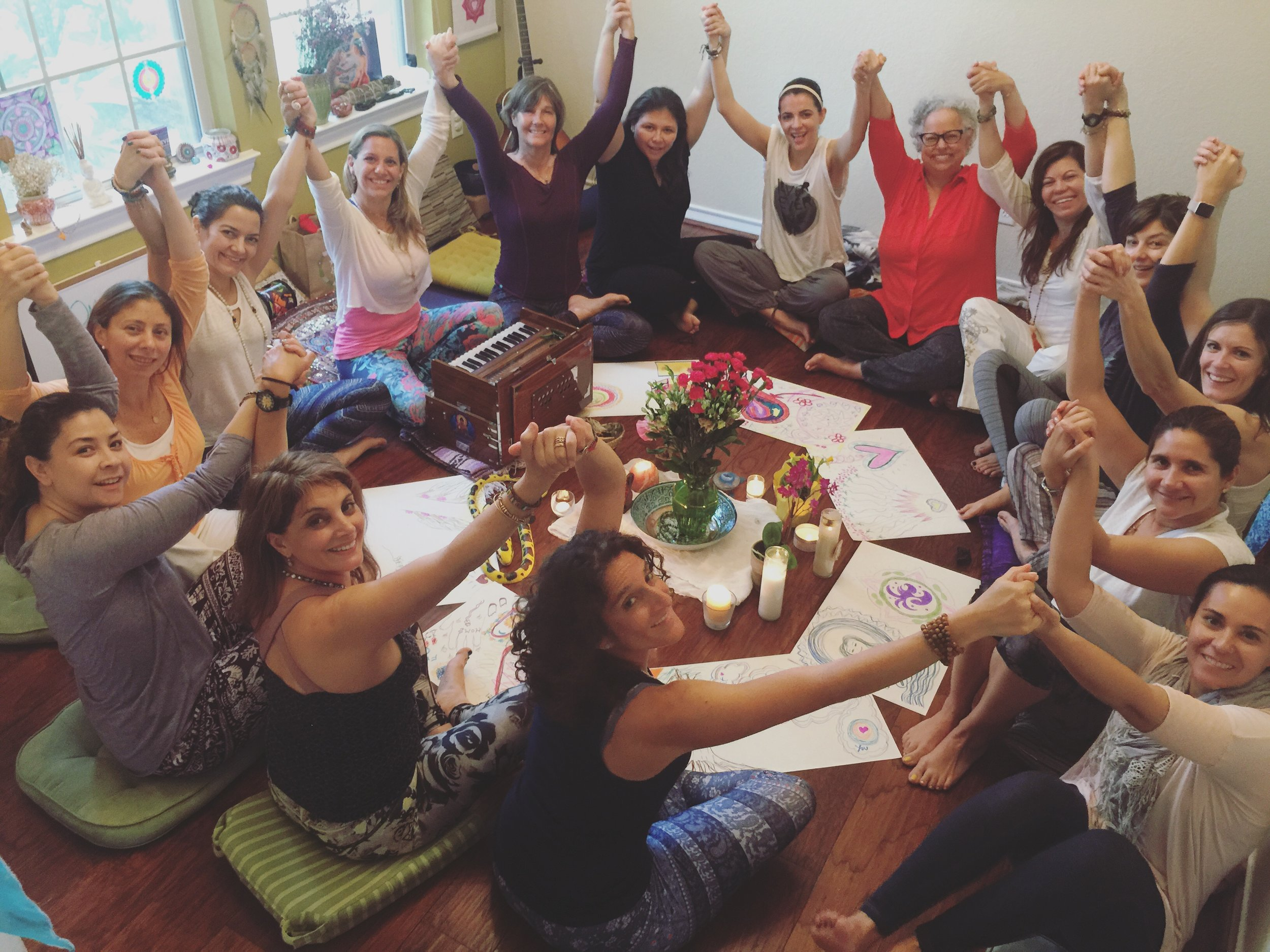 JOIN OUR COMMUNITY - Connect with over 50,000 women around the globe in conversation about spirituality, healing, guidance and sisterhood.