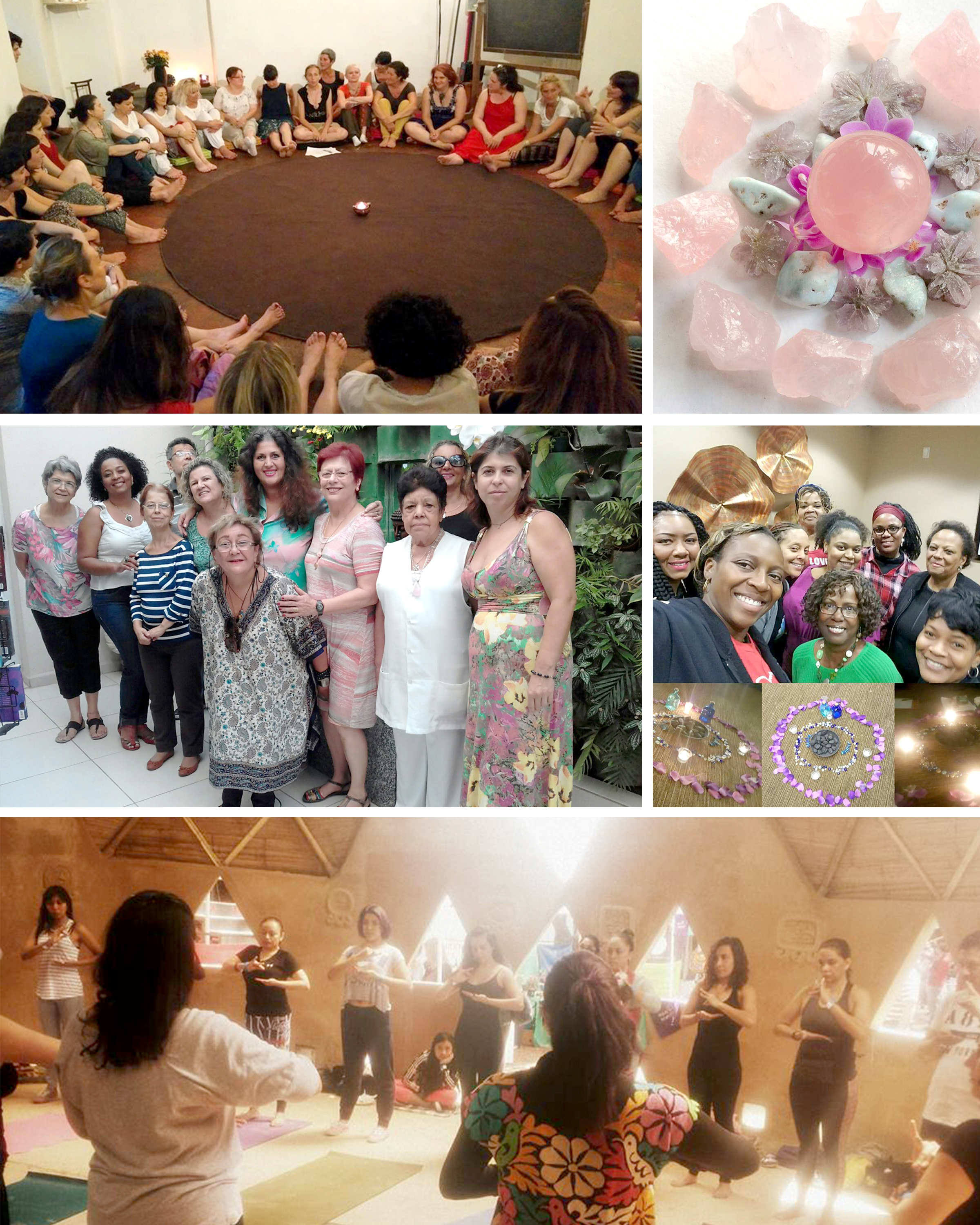 What is a sister circle? - For ages, women have been aligning with the moon to regulate their mind, body and spirit - to release old emotions, share with sisters, and manifest their hearts' true desires.These intimate online gatherings are the perfect way to align yourself with the power of the moon, release what no longer serves and plant intentions for the following cycle.