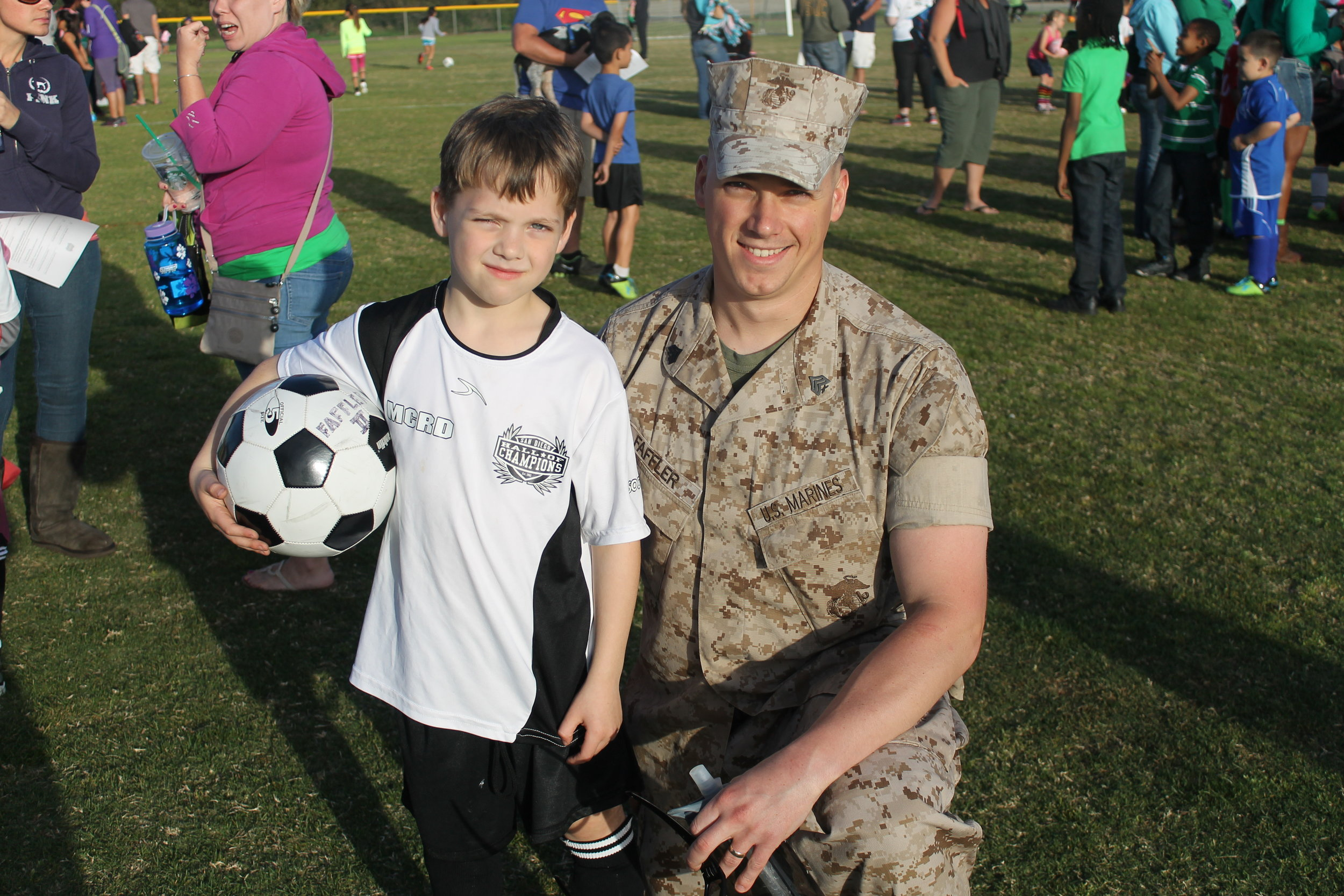 TOGETHER - The San Diego Sockers & San Diego Sports Association are excited to join forces so that hundreds of Military families and youth have the opportunity to participate in structured youth soccer leagues, camps, clinics, and training sessions year over year.