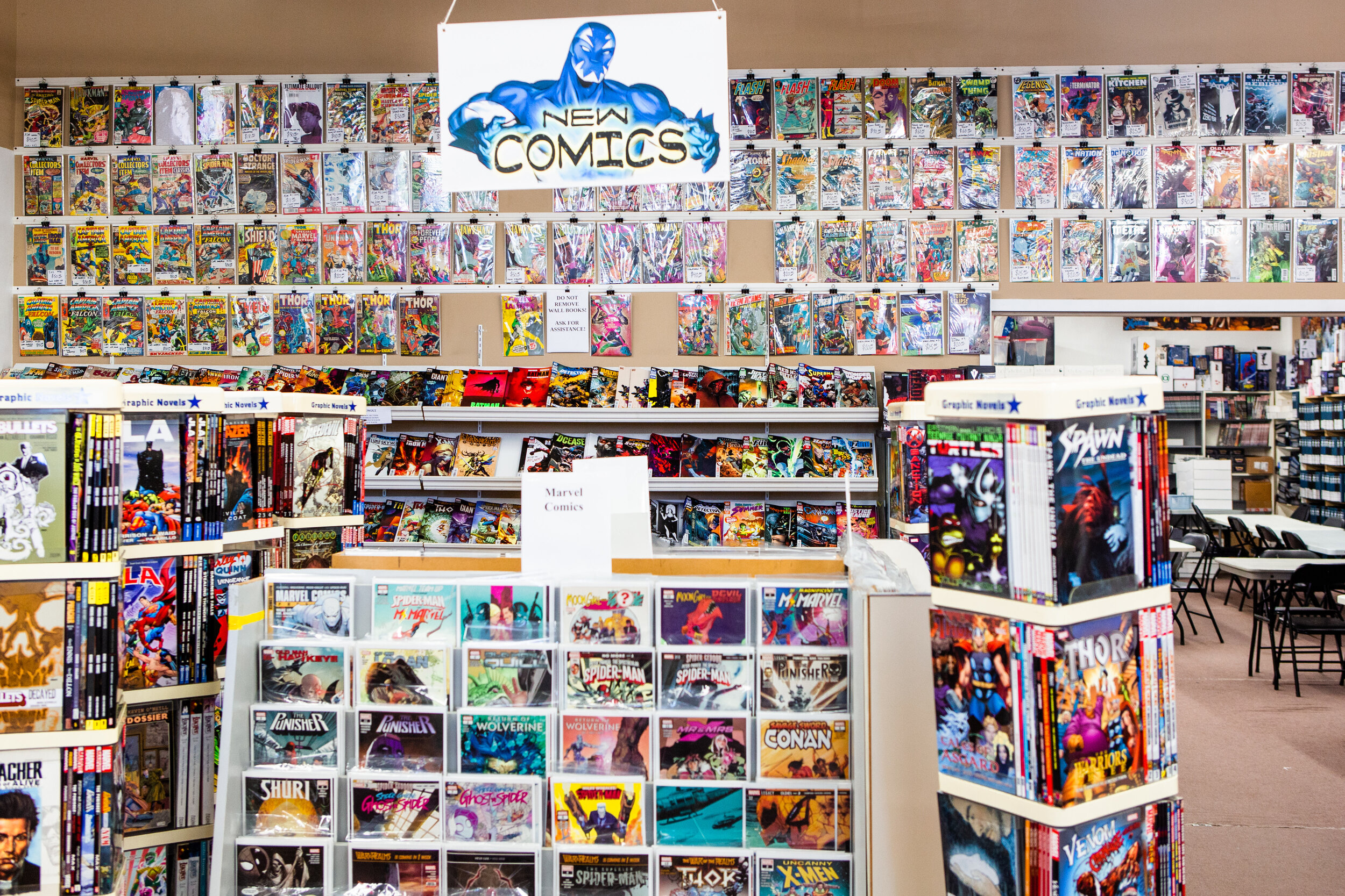 Comics - Comics are at the heart of our history and culture. We have experienced staff with a wealth of comic knowledge to offer. Our pull list includes 100's of loyal customers that have chosen Comic Connection as their comic book provider. Pay us a visit and find out why we are the best comic book store in the GTA.