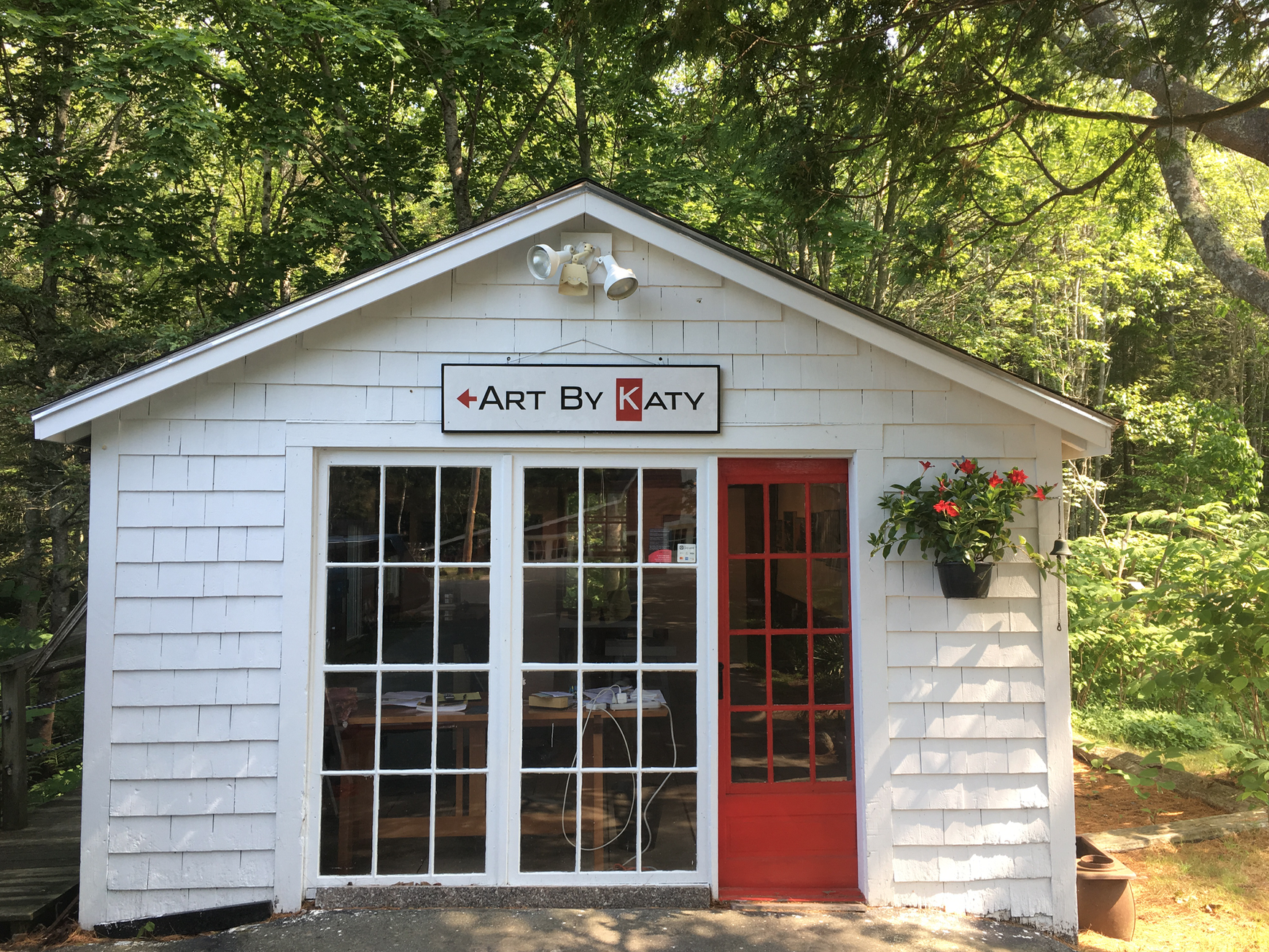 Copy of Art By Katy Gallery, 22 Weed Field Rd, Stonington, Maine