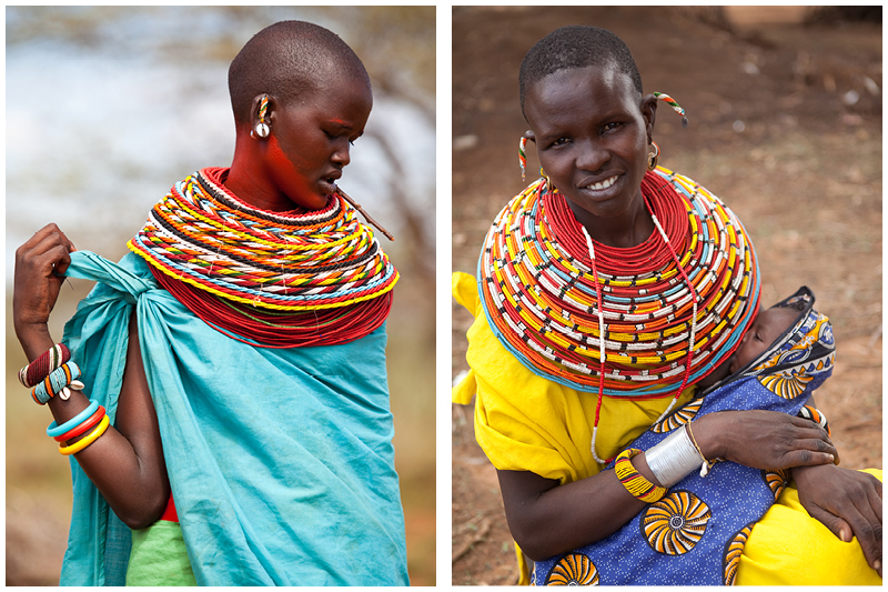 When a young woman is being courted by a moran, he gives her a bright collar of colourful beads to show that she is his girlfriend. Once she gets married to the man she has been promised too, she must give these beads back and wear different jewellery to indicate her new status.