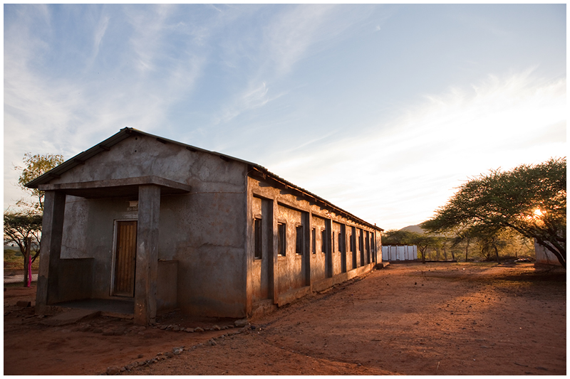 Kipsing Primary School was founded by the Catholic Church but is now a government school and so the students do not have to pay for their schooling, however due to their families' nomadic lifestyle, they cannot stay in school unless they are in boarding school. This is the boarding facility which is still run by the Catholic church.