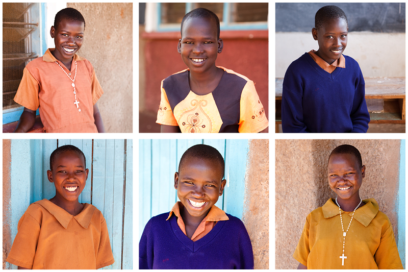 These are six of the girls that the headmaster has highlighted as being promising students. They are in need of sponsorship to help them stay in school. Expanding Opportunities helps raise support for these promising students.