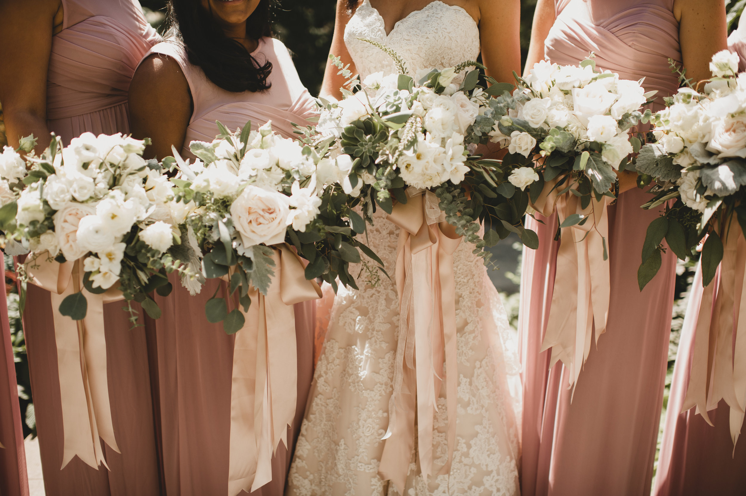 Collection of Bridesmaids Bouquets
