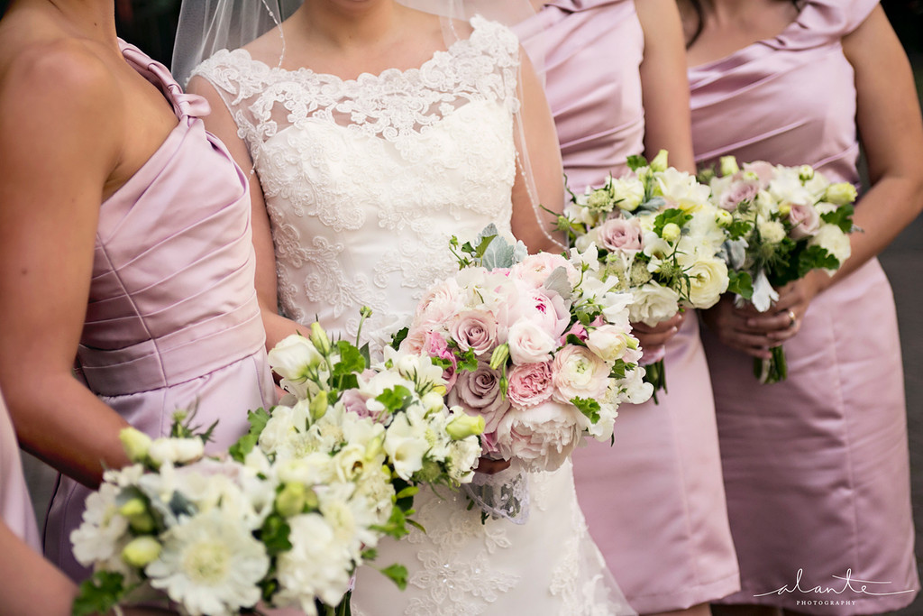 Collection of Bride and Bridesmaids Bouquets