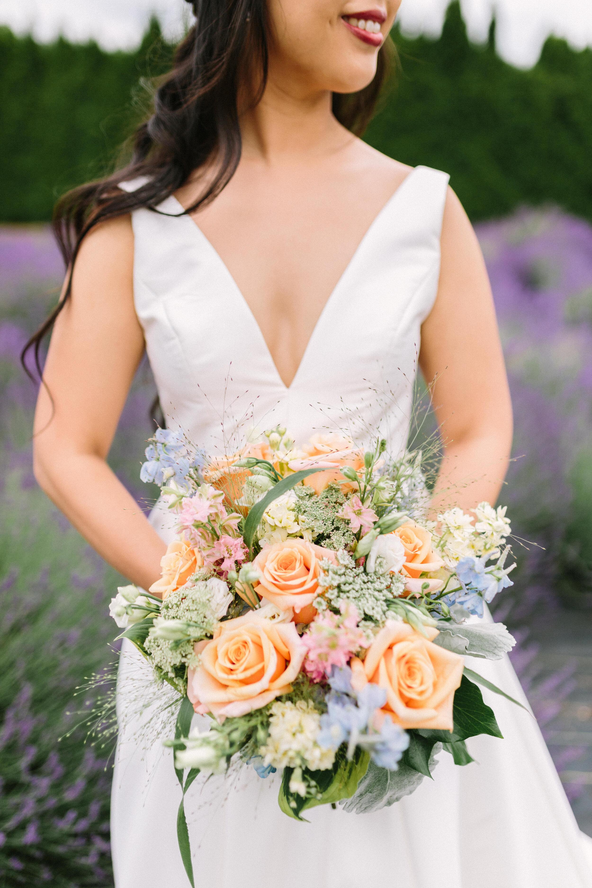 Soft Pastels Bridal Bouquet