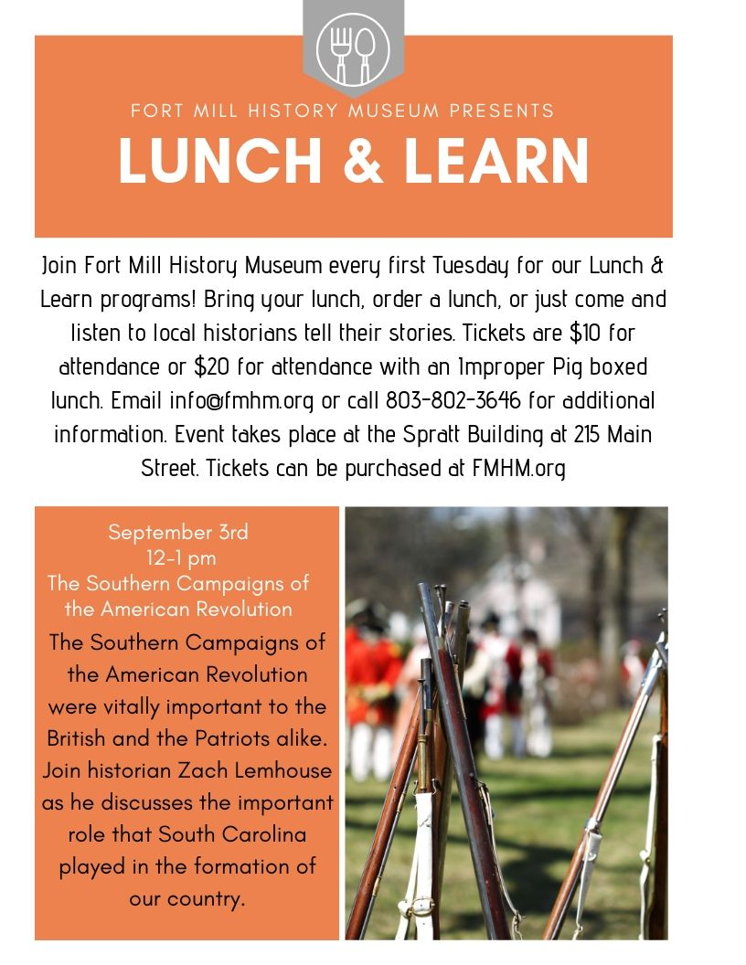 Lunch & Learn - September 3rd, 12 - 1 pm