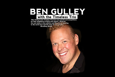 Ben Gulley with Timeless Trio - World Class vocalist