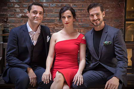 Hooray for Hollywood featuring Empire Trio - male & female vocalist with piano/violin