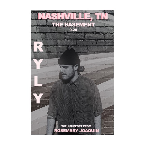 NASHVILLE, TN  LAST SHOW OF TOUR THIS SATURDAY!! DOORS OPEN AT 6:30 @thebasementnash  Tickets are cheap come hang out to hear song pop music by @rosemary.joaquin and myself!