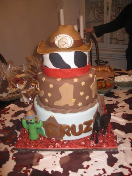 Western Cowboy cake