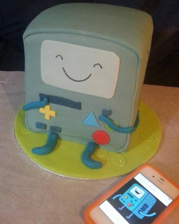 BMO Adventuretime cake