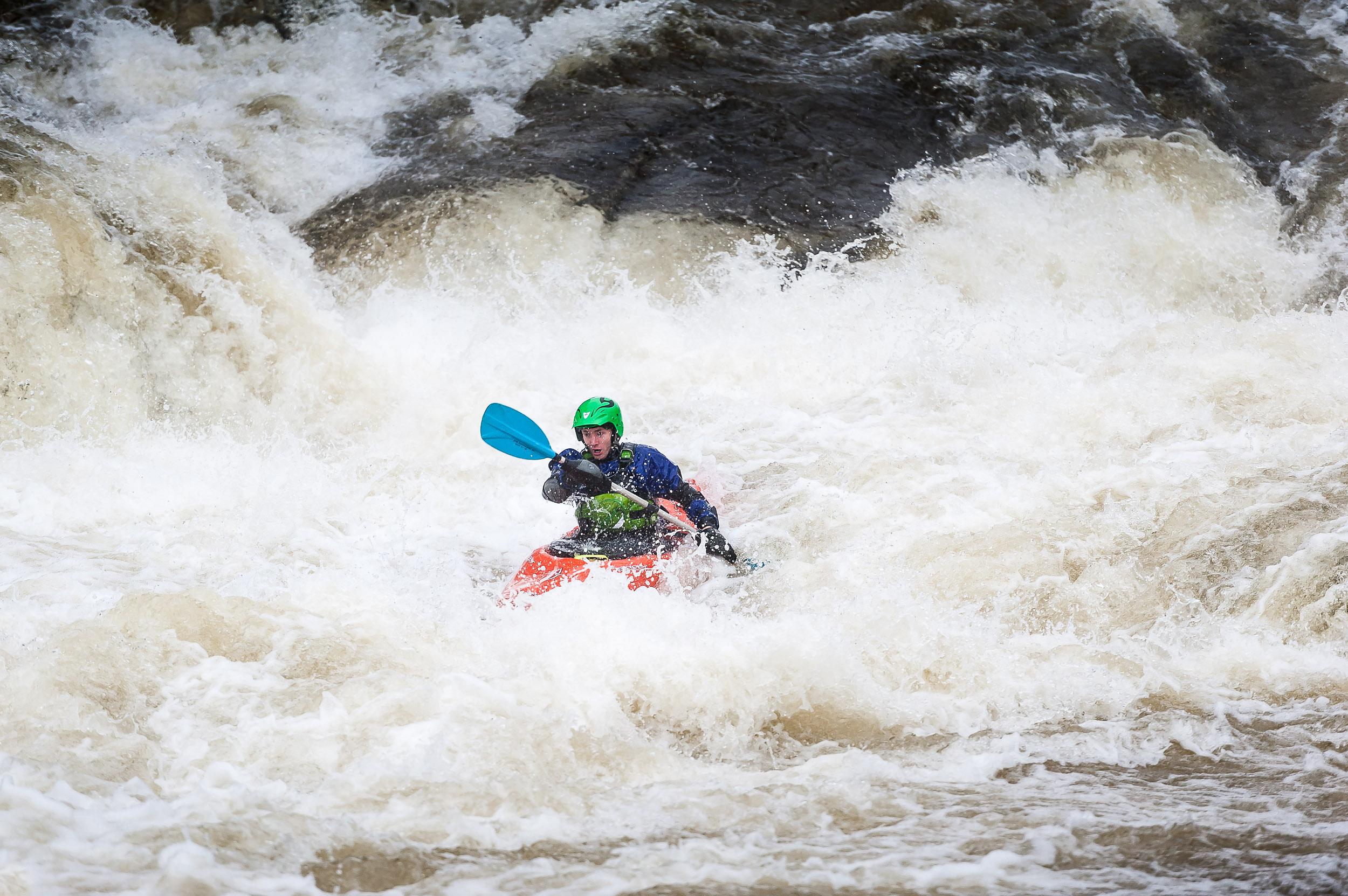 Whitewater kayaking - Scotland