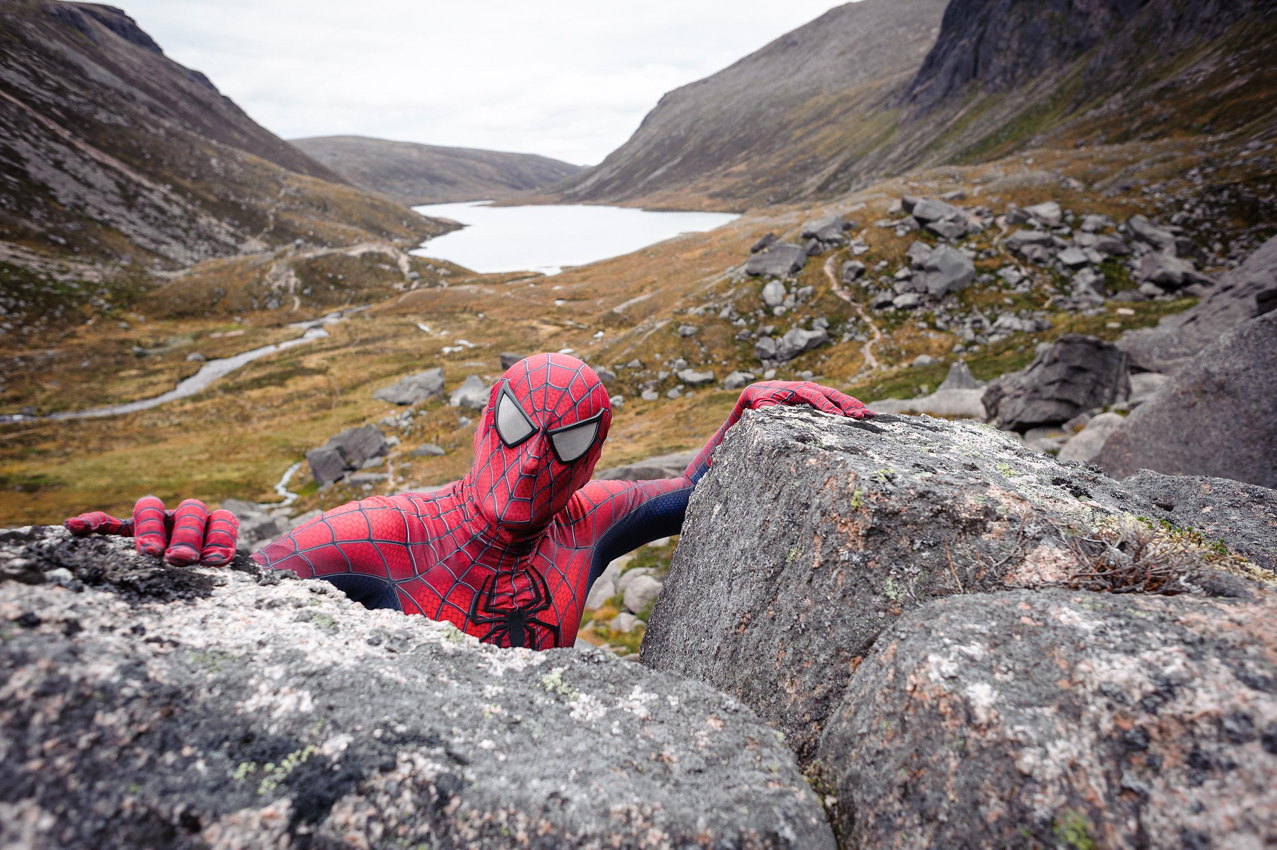 Spiderman - Cairngorms National Park, Scotland