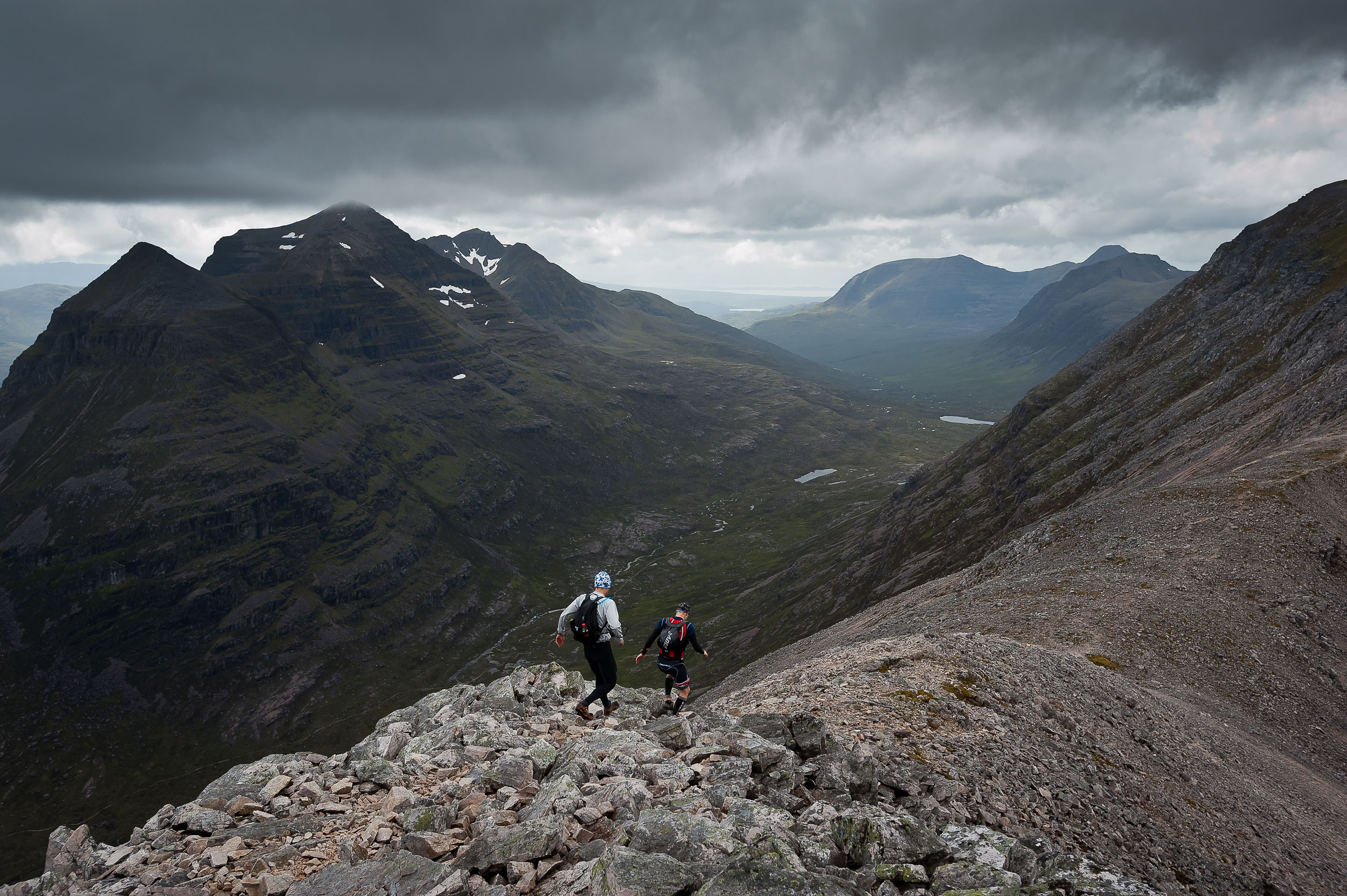 Extreme triathlon - Scotland