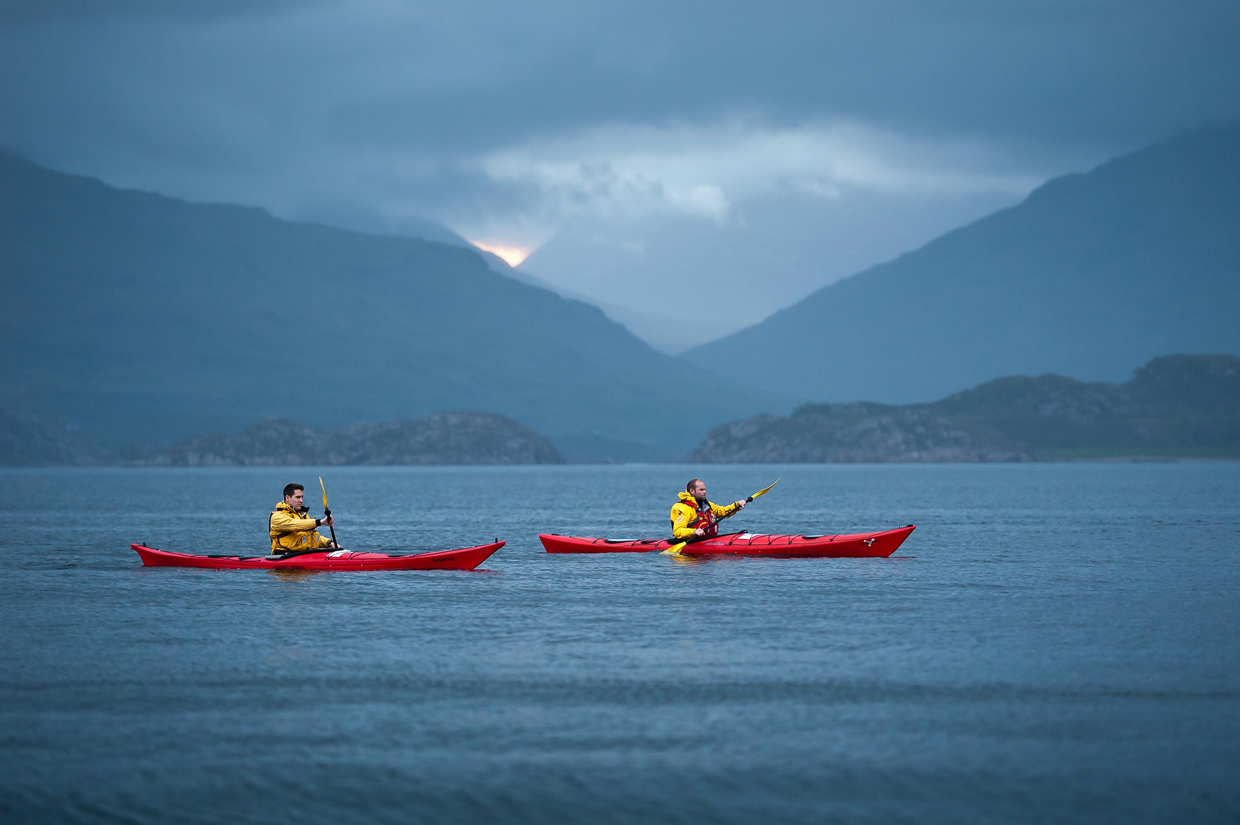 Sea kayaking - Scotland