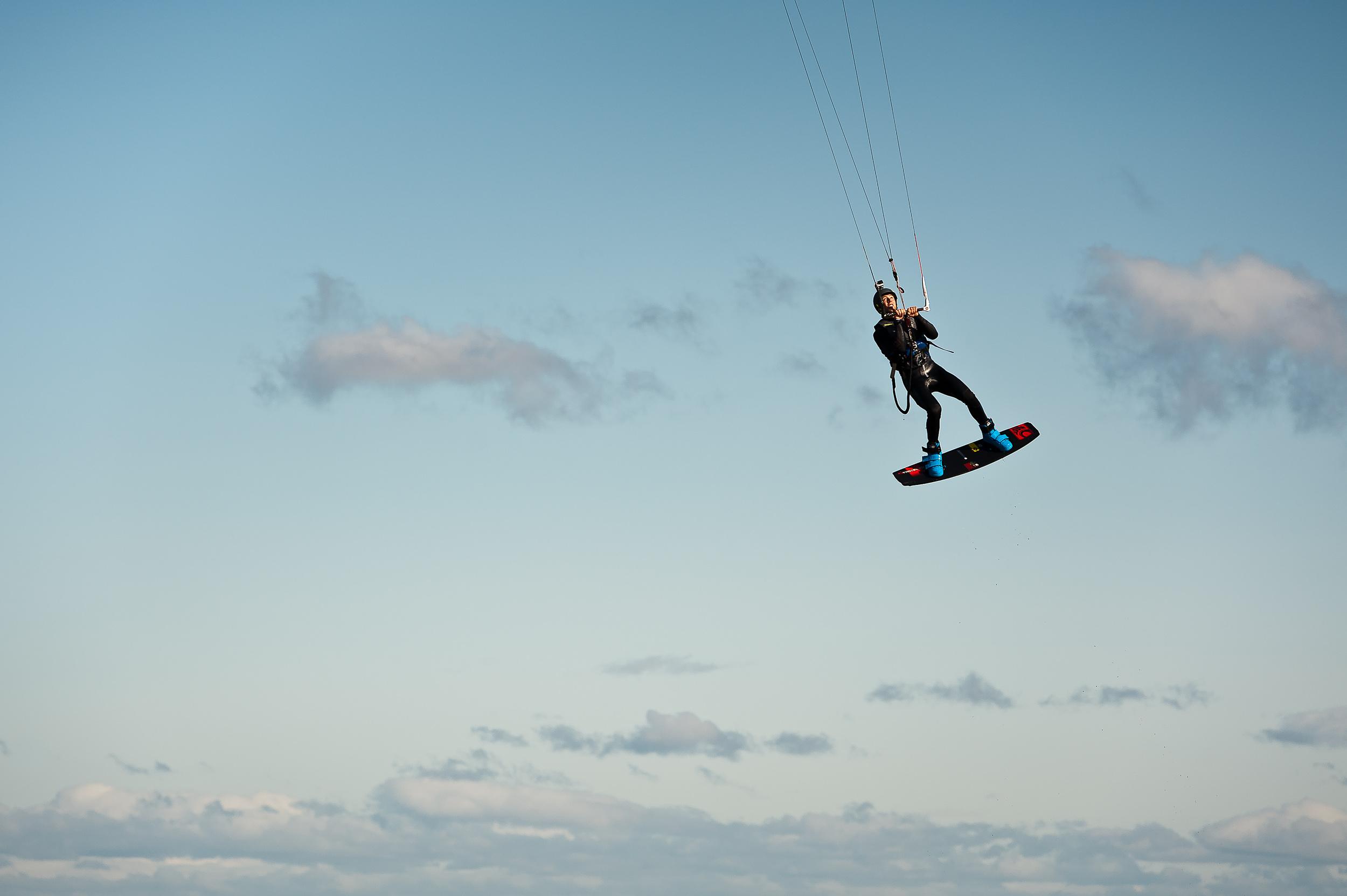 Kiteboarding - Scotland