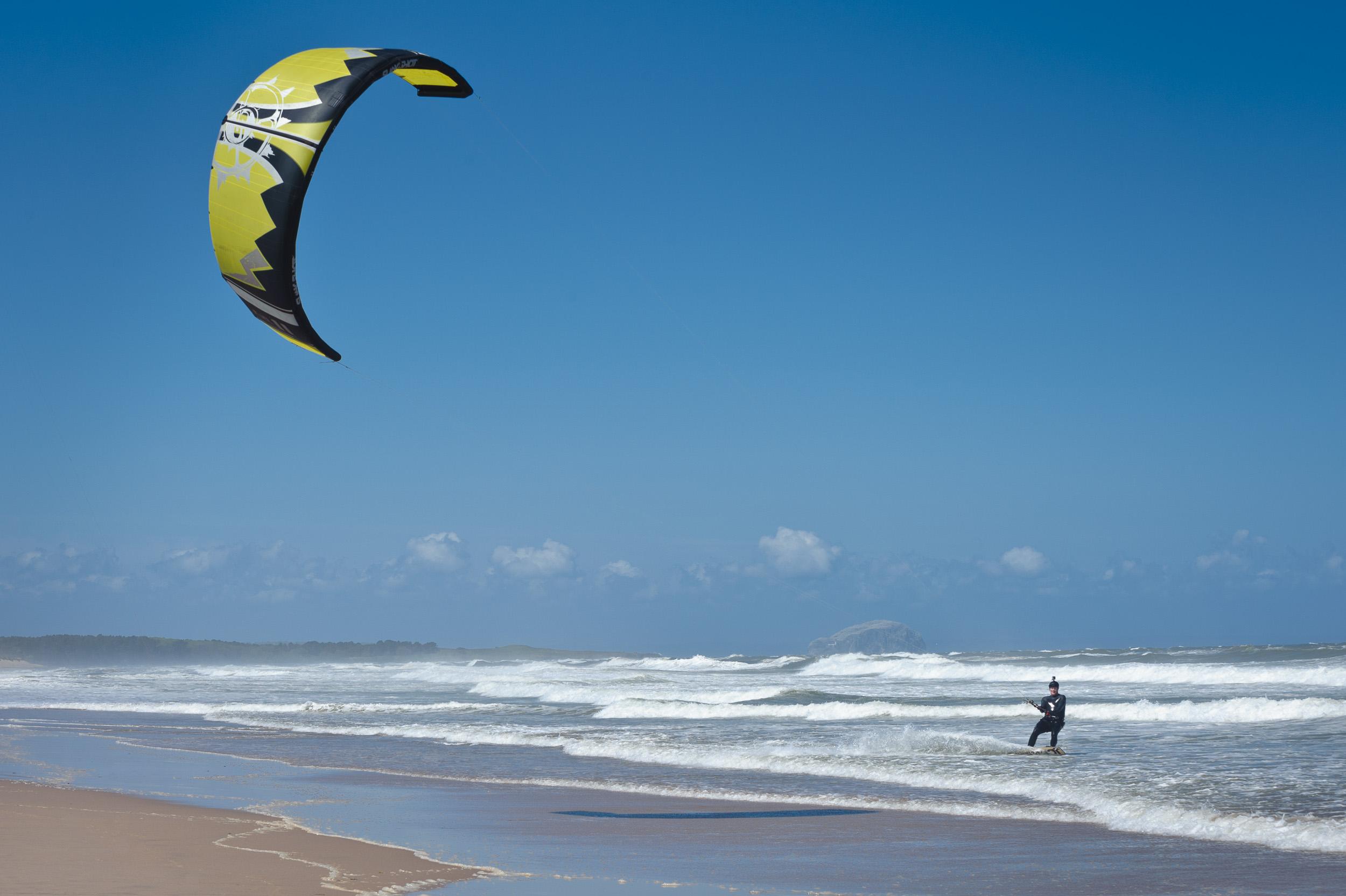 Kitesurfing - Scotland