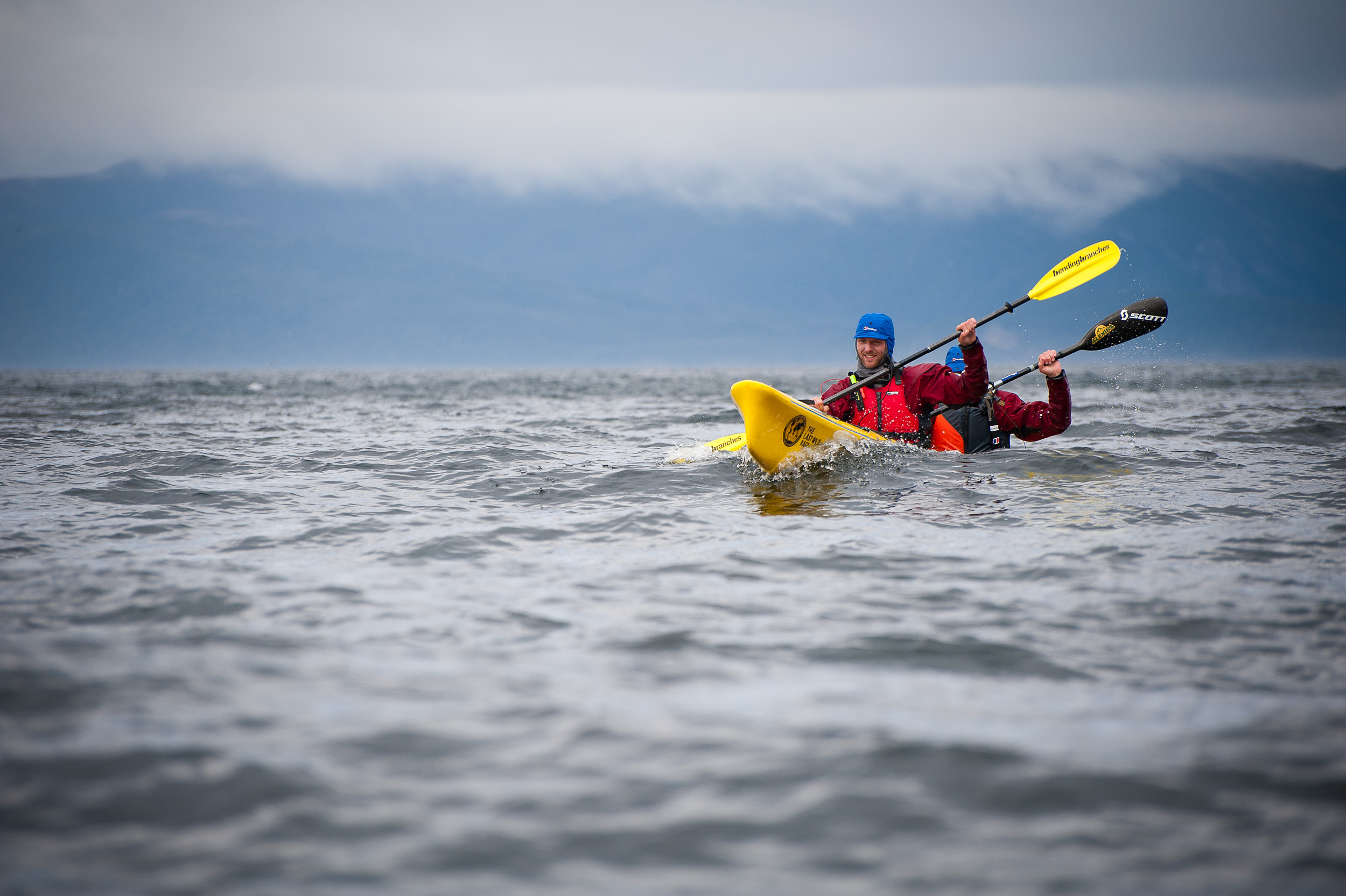 Sea kayaking - Chile