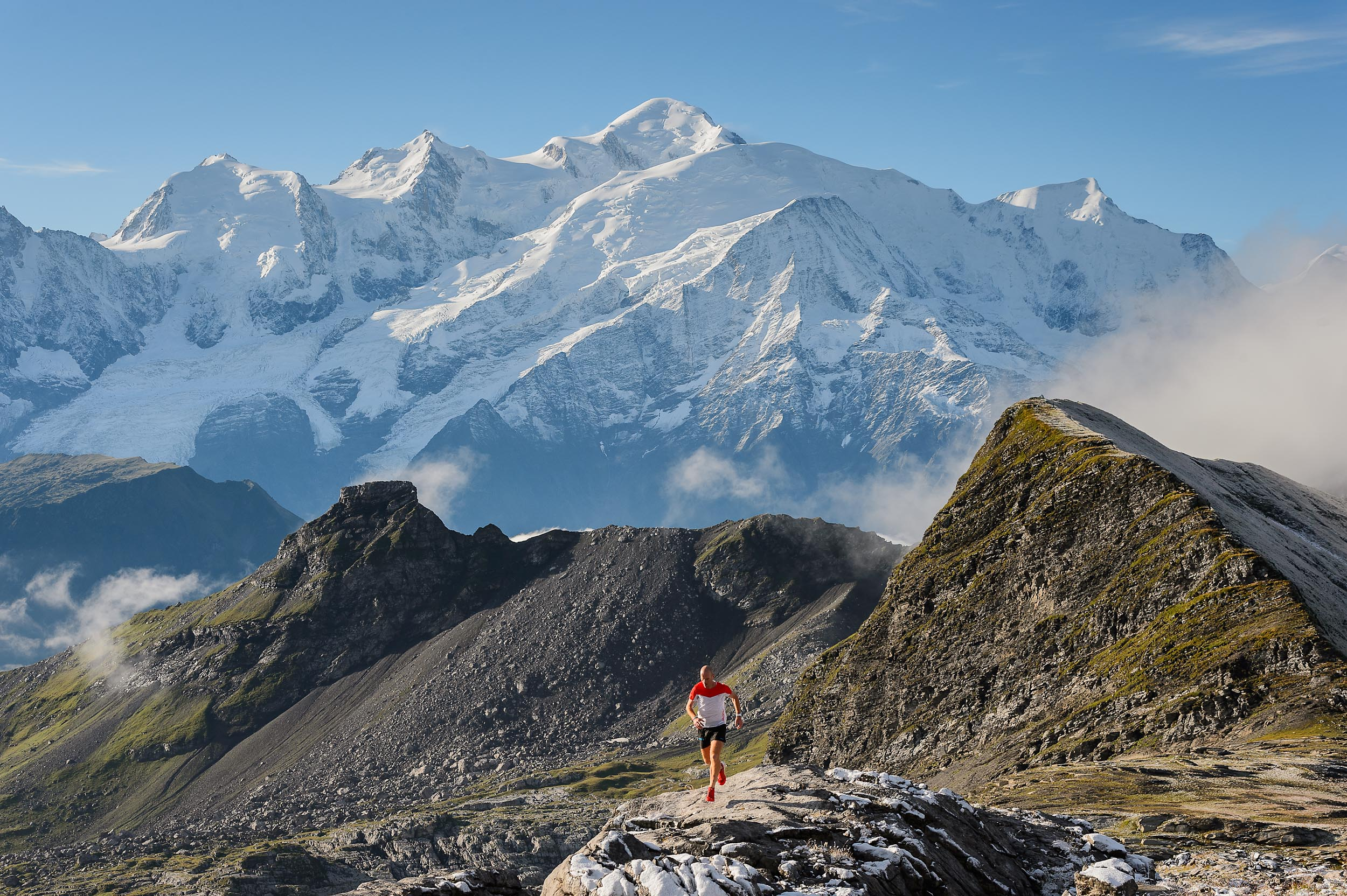 Trail and mountain running - French Alps