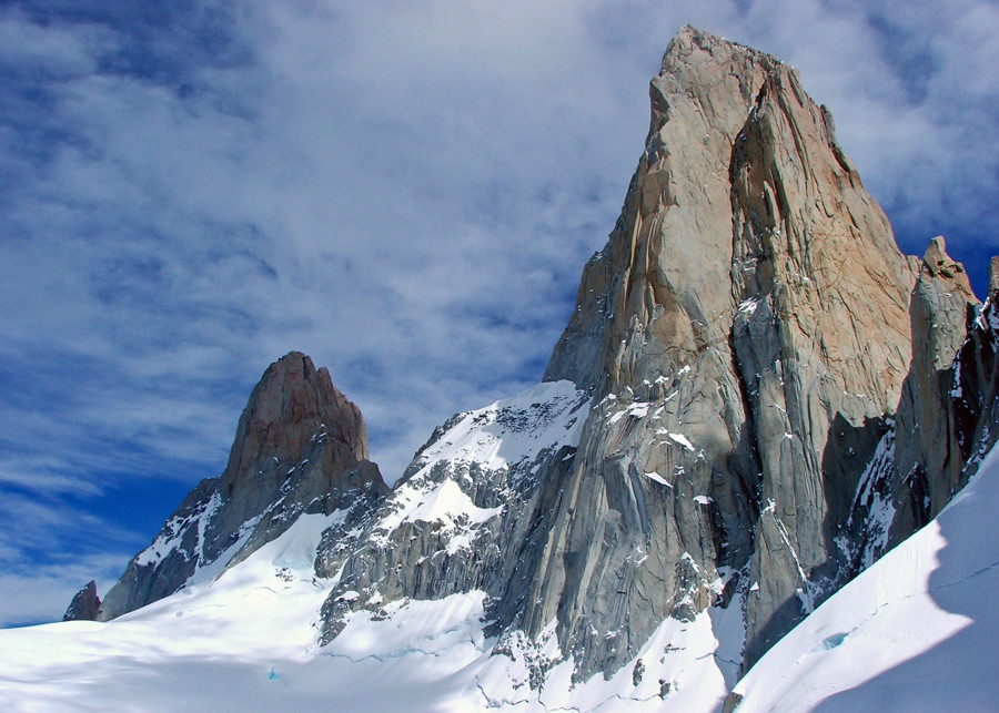 Aguja Poincenot and Cerro Fitz Roy