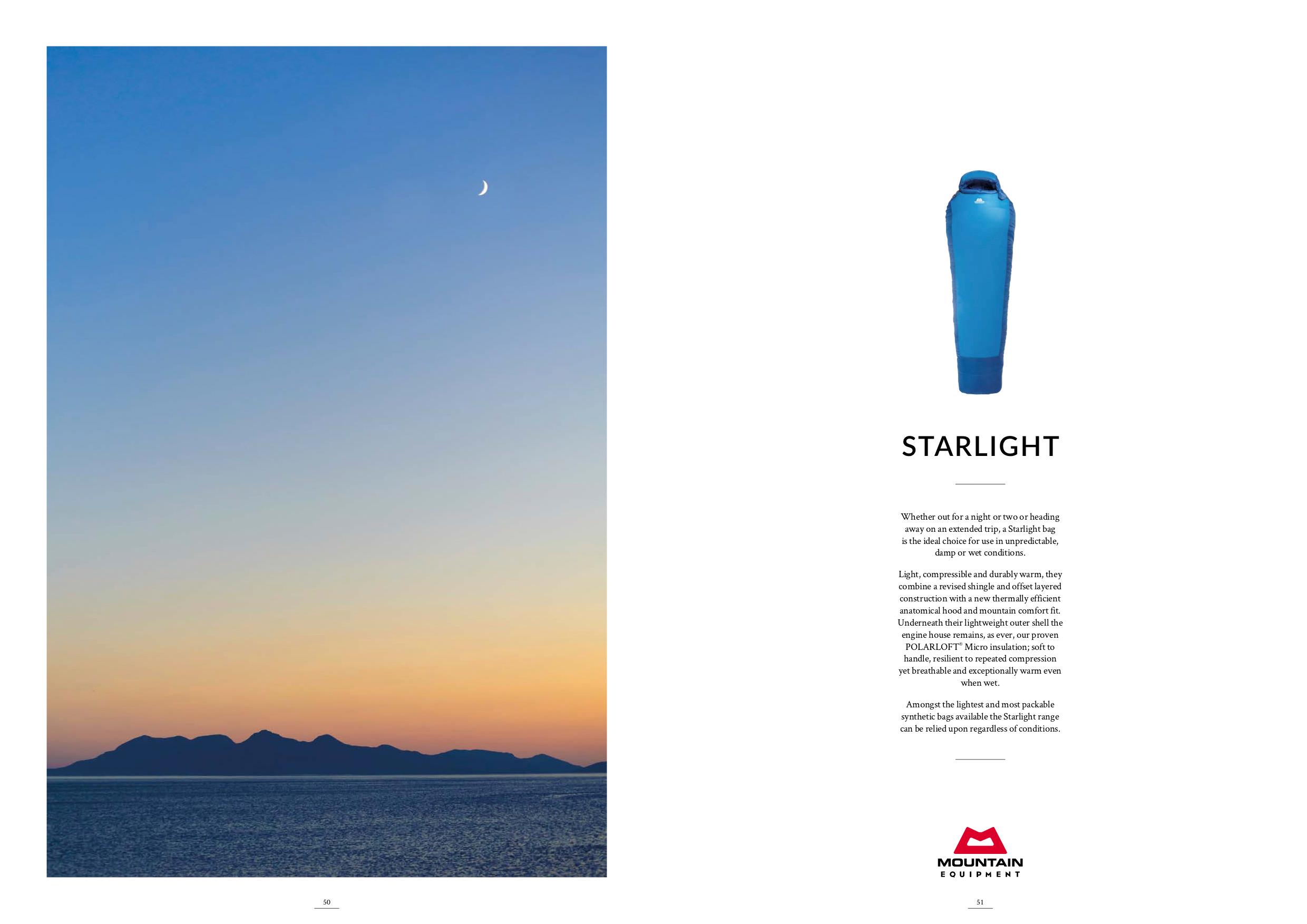 One of my images being used to promote a product in a trade magazine, which I achieved after a successful negotiation with Mountain Equipment's Marketing Manager.