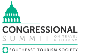 Logo for Southest Tourism Society's Congressional Summit event