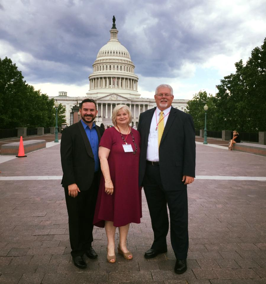 Southeast Tourism Society members at Congressional Summit event in Washington, DC