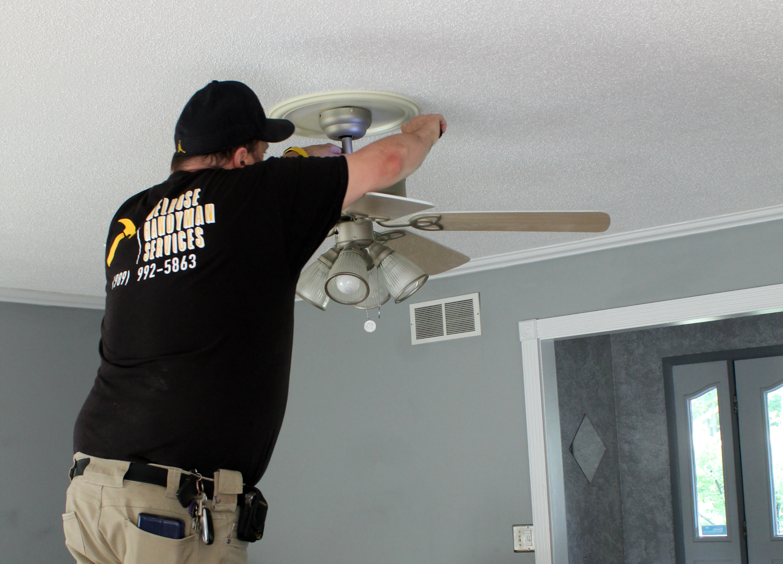 Installing A Ceiling Fan To Save Energy